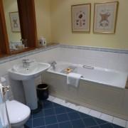 Uno de los baños de los apartamentos del K Club